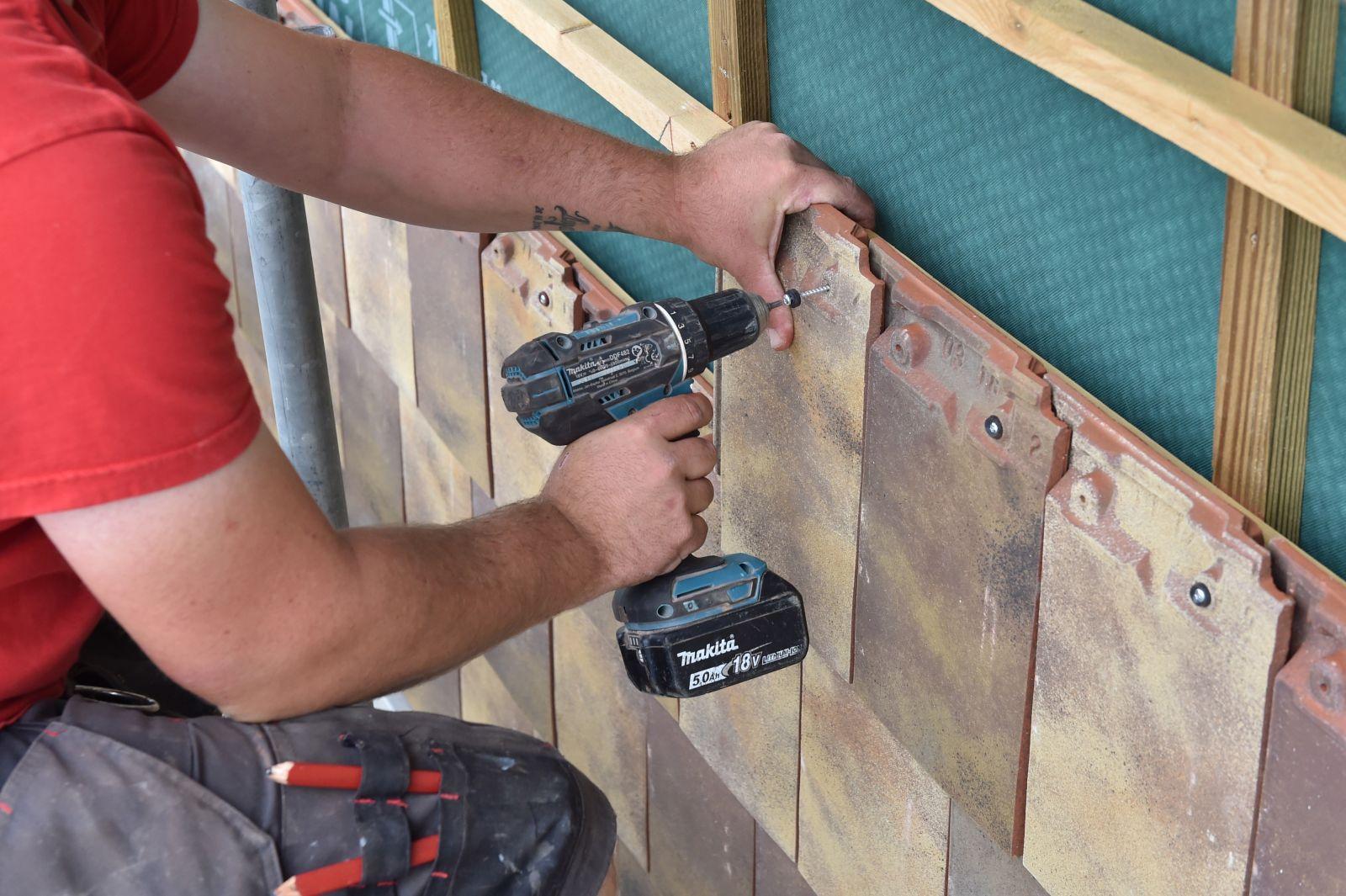 Tuile En Bois Nom le pari audacieux d'un bardage en tuiles à nantes architecture