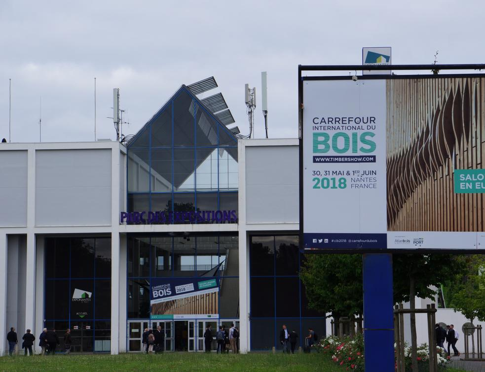Quelles Tendances Pour Le Matériau Bois Au Carrefour De Nantes