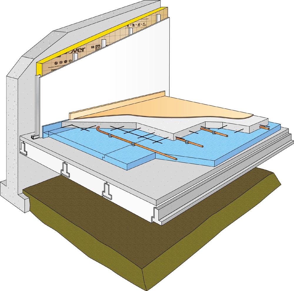 Avis Chauffage Au Sol Electrique l'isolation des sols : sus aux planchers ! générale normes