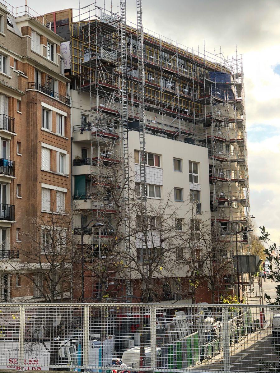 Renovation Volets Bois Paris une surélévation en bois à paris rentabilisée grâce au prix du