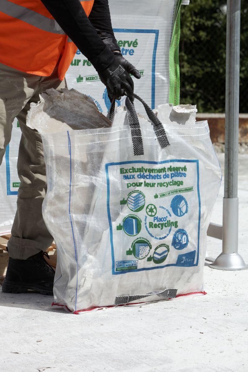 Enlever Du Carrelage Mural Sur Du Placo le recyclage des déchets de plâtre s'ouvre aux petits chantiers