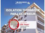 EDIL-Therm, le système d'ITE par enduit mince, sur PSE ou Laine de Roche