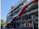 """Centre Pompidou: l'emblématique """"chenille"""" rénovée"""