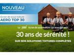 L'écran de sous-toiture AERO TOP 30 : le seul qui vous garantit 30 ans de sérénité !