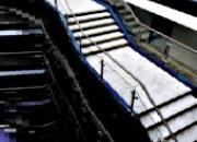 Escalier à limon d acier