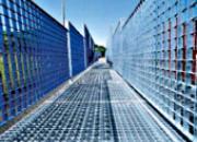 Caillebotis pour clôtures