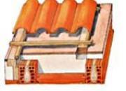 Planchers sous-toiture surisolation  protégée
