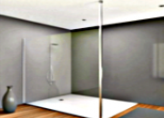 Poteau sol/plafond