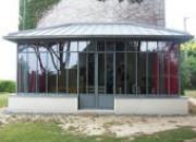 Verrière avec toiture zinc