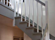 Escalier en MOVINGUI laqué