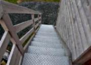 Escalier en IROKO