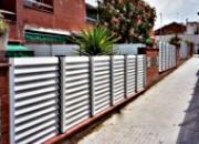 La clôture de jardin