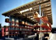 Construction ouverte monopente
