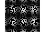 Tôle perforée à trous carrés aléatoire