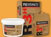 PRESTONETT R3h – Reboucheur à séchage rapide