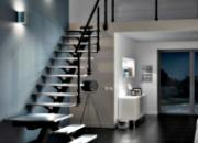 Escalier droit métal