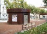 Toilette PMR - Kiosque Aspect Rouillé