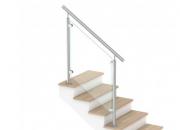 Garde-corps pour escalier d'intérieur en verre