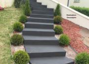 Enduit Rouviere Collection pour escalier extérieur