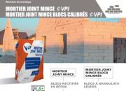 MORTIER JOINT MINCE ©VPI