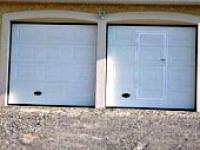 Porte garage sectionnelle latérale