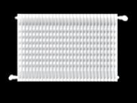 Radiateur plissé en acier
