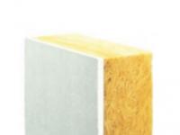 plaque de pl tre coll e avec isolant laine de verre doublage 4465p1. Black Bedroom Furniture Sets. Home Design Ideas
