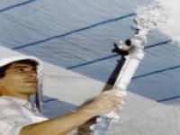 Plafond suspendu T enduit de plâtre