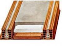 Plancher avec isolation thermique incorporée