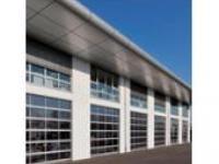 Porte sectionnelle vitrée aluminium ALR F42