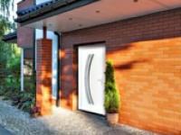 Porte d'entrée elegantes