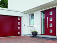 Les portes de garage et portes d'entrée assorties