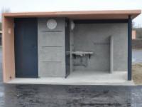 Buanderie – Installation sanitaire extérieure