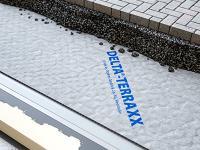 Nappe drainante pour toits plats Delta-TERRAXX