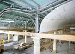 Des plafonds courbés pour un grand cru