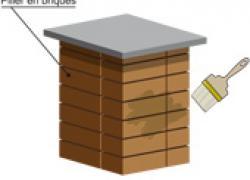 Réaliser des piliers de briques esthétiques