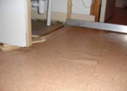 Rénovation de plancher : quand la chape sèche se tasse