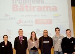 Les vainqueurs des Trophées de l'Apprenti 2011
