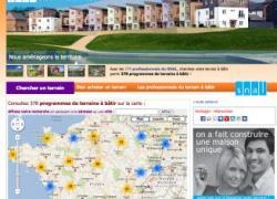 Foncier : un site internet 100% terrains à bâtir
