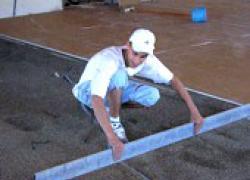 Poser une chape sèche en rénovation