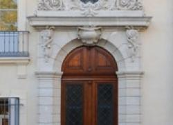 Produits minéraux pour le ravalement de façade d'un collège de Montpellier