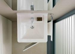 Salle de bains : les éléments gain de place