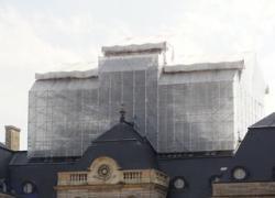Le Dôme du château de Vaux-le-Vicomte se refait une beauté