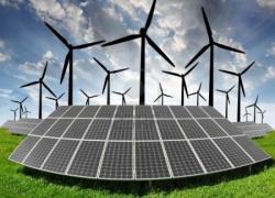 Reprise de l'éolien et  du photovoltaïque au premier semestre
