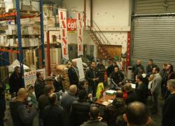 Des salariés occupent leur entreprise de peinture à Caen