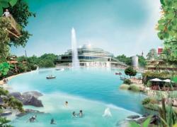 Feu vert au chantier des Villages Nature près de Disneyland