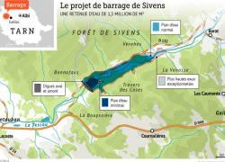 Barrage de Sivens: le projet va être modifié