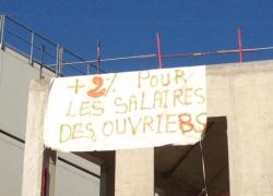 Vinci : des chantiers bloqués en Ile-de-France pour les salaires