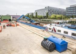Matériaux de construction : des livraisons par voie fluviale