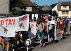 Nouvelle marche des opposants au projet de LGV Lyon-Turin